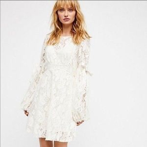 Free People Ruby Lace Dress Size M